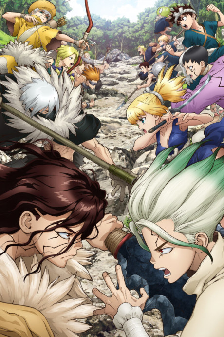 Dr Stone Stone Wars